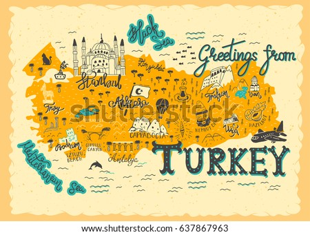 interesting map of turkey