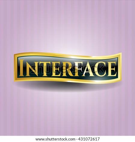 Interface gold badge