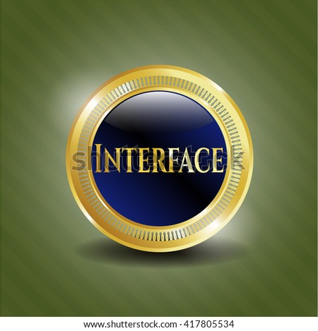 Interface golden badge