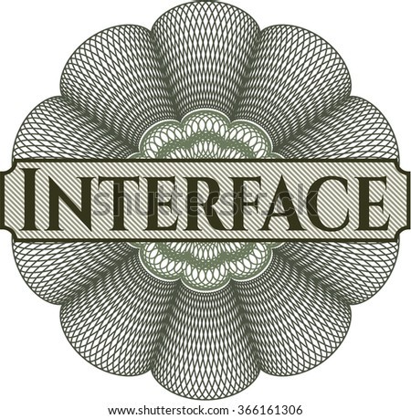 Interface money style rosette