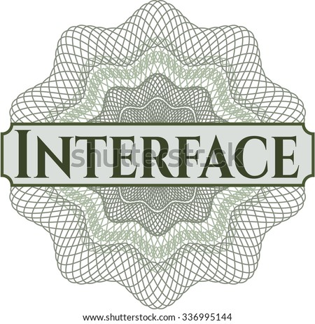 Interface rosette