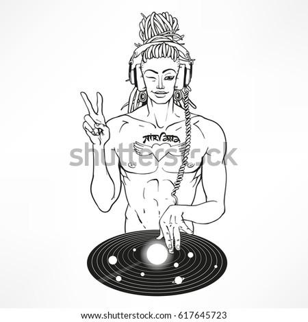 intergalactic dj buddha   super