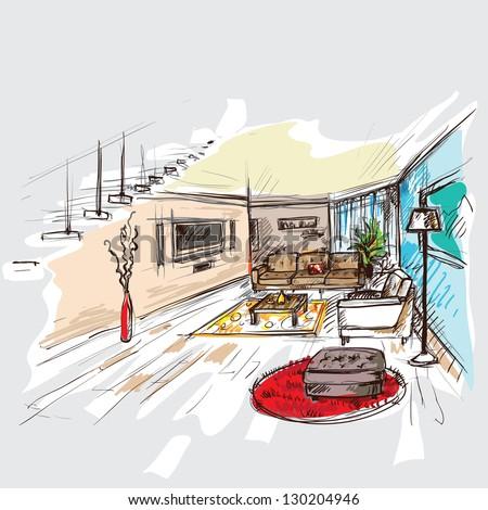 interior - Shutterstock ID 130204946