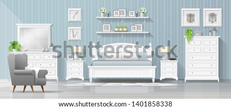 interior background with