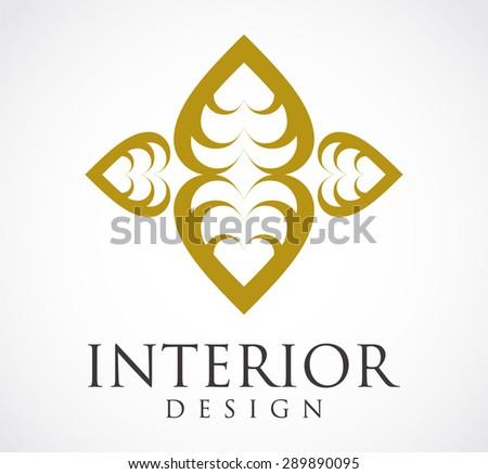 interior design elegant logo