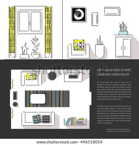 Interior design magazine page layout web site page for Interior design room layout template