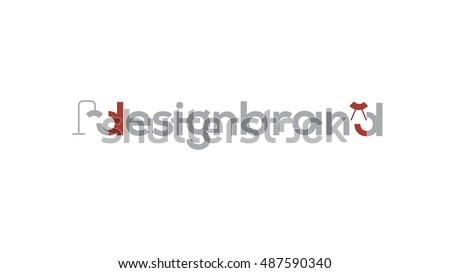 interior design vector logo