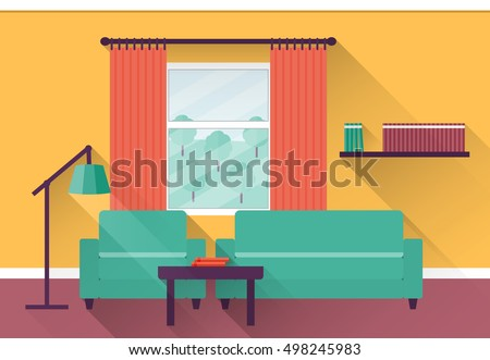 interior living room with