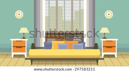 interior living space bedroom