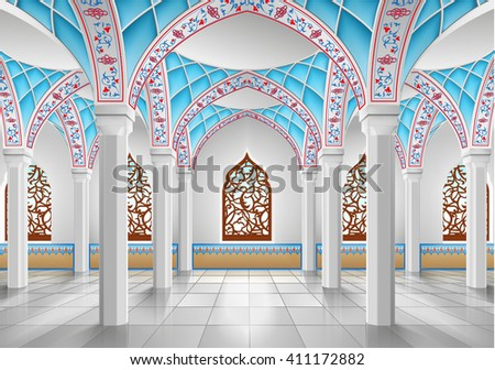 interior of mosque three