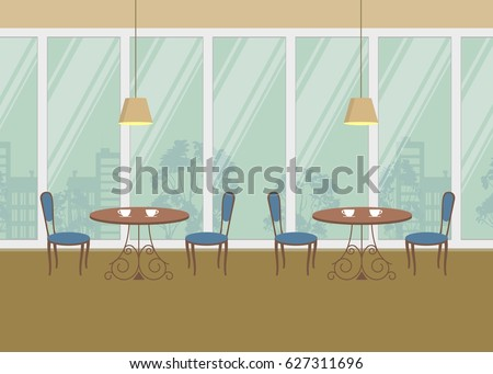interior of restaurant there