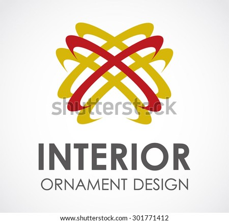 interior ornament ring abstract