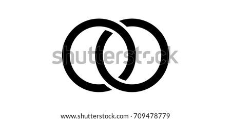 interlocking circles  rings
