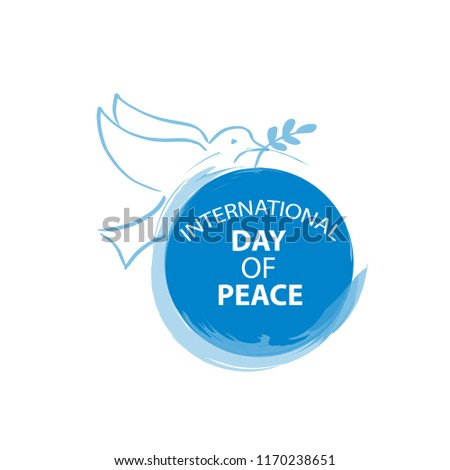 International Day of Peace  concept.