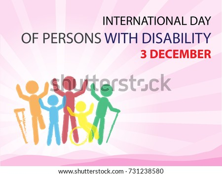 INTERNATIONAL DAY OF PERSON WITH DISABILITY BACKGROUND
