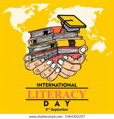 International Literacy day, 8 september Сток-фото ©