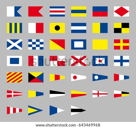 Nautical flag vectors download free vector art stock graphics international maritime signal nautical flags isolated on gray background publicscrutiny Images