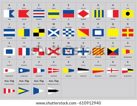 Super Nautical Flag Vectors - Download Free Vector Art, Stock Graphics  LL75