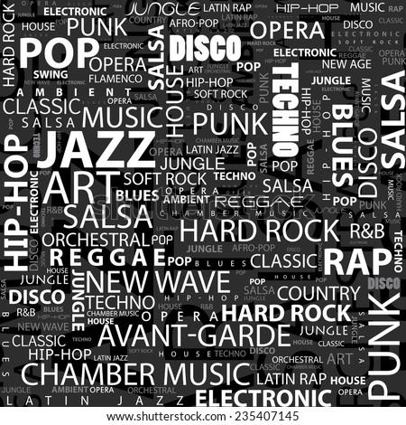 international music names
