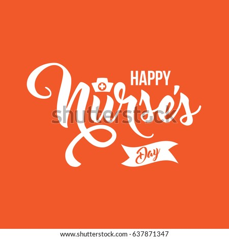 International Nurse's Day icon design. EPS10 vector illustration.