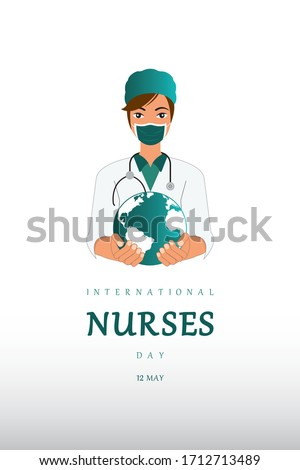 International Nurses Day, World Nurse Day, Nurse, International Midwives Day, Fight Corona.
