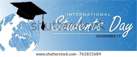 International Students Day Background