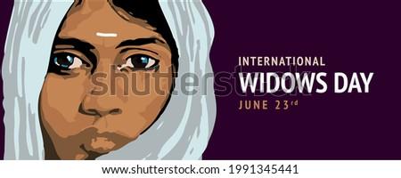 international widows day june