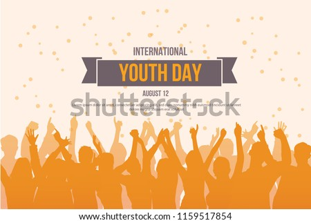 International Youth day poster campaign