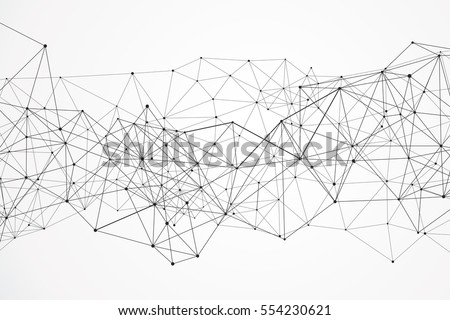 Internet connection, abstract sense of science and technology graphic design.