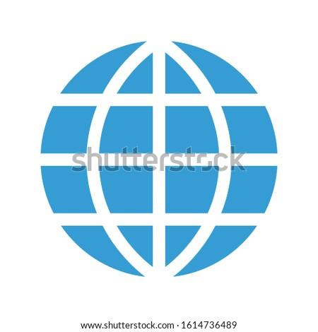 internet icon. flat illustration of internet vector icon. internet sign symbol