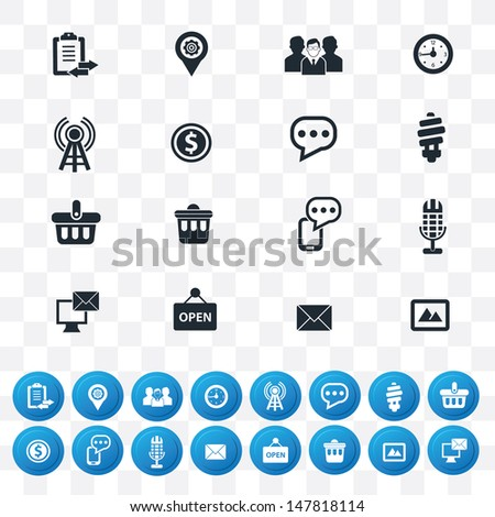 internet icon set 2 version in