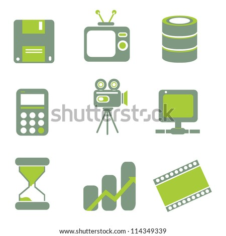 internet icon, web icon set