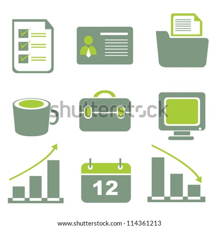 internet icon, web icon set
