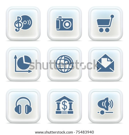 Internet icons on buttons 5
