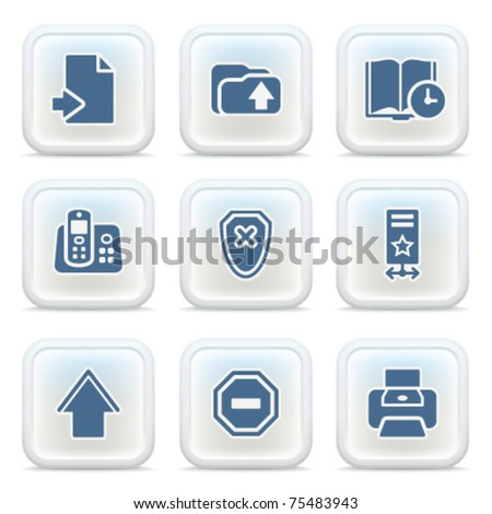 Internet icons on buttons 4