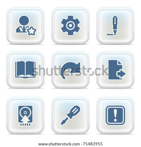 Internet icons on buttons 6