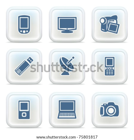 Internet icons on buttons 16