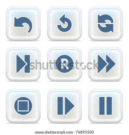 Internet icons on buttons 29
