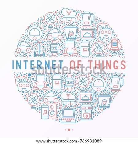 internet of things concept in