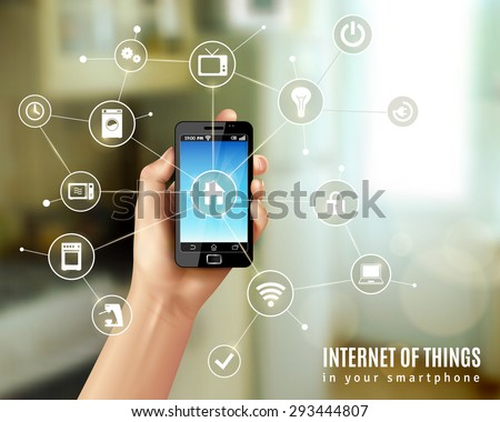 internet of things concept with