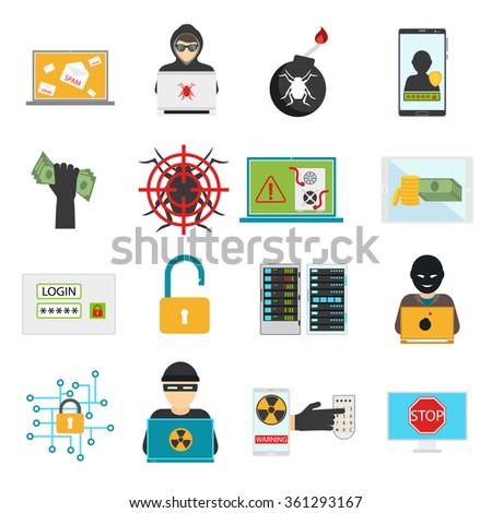 internet security vector