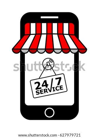 internet shopping seven days a