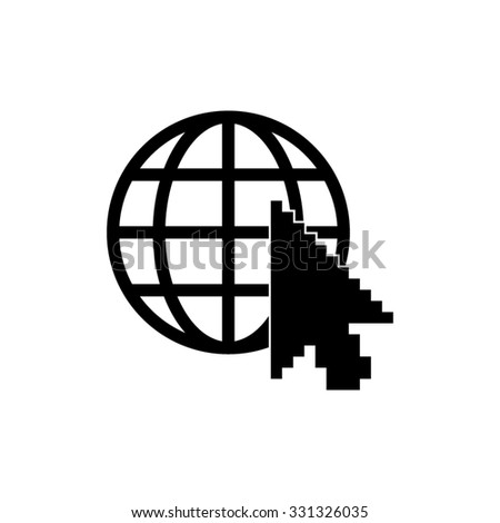Internet - vector icon