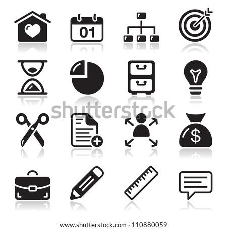 Internet web icons set