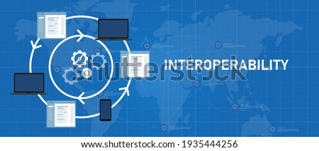 interoperability different technology software or device working together integrated exchange operation and data