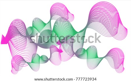 interpolation art abstract