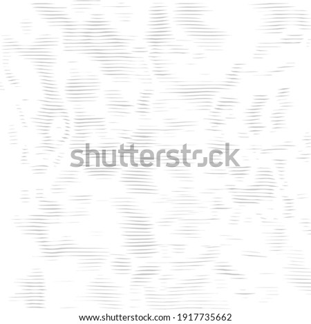 Intersecting lines the ripple effect. Wavy striped facturer. Decorative lined hypnotic contrast background.  Monochrome abstract wallpaper with moire effect. Vector texture