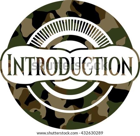 Introduction camo emblem
