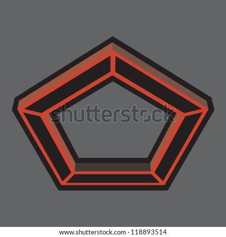 Inverted Pentagon
