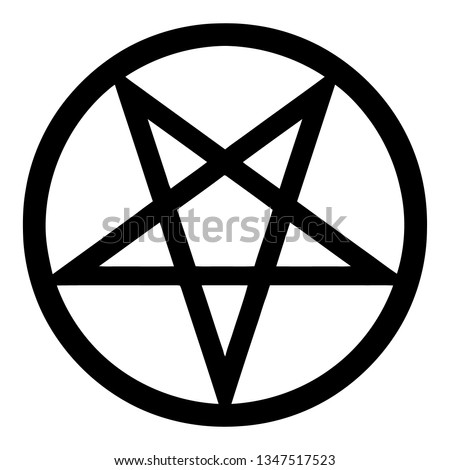Inverted Pentagram Clipart
